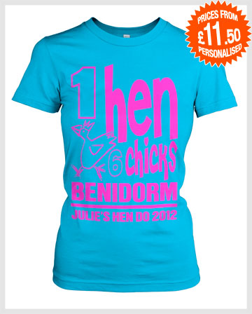 Hen party weekend group t shirts with custom text for Hen party t shirts